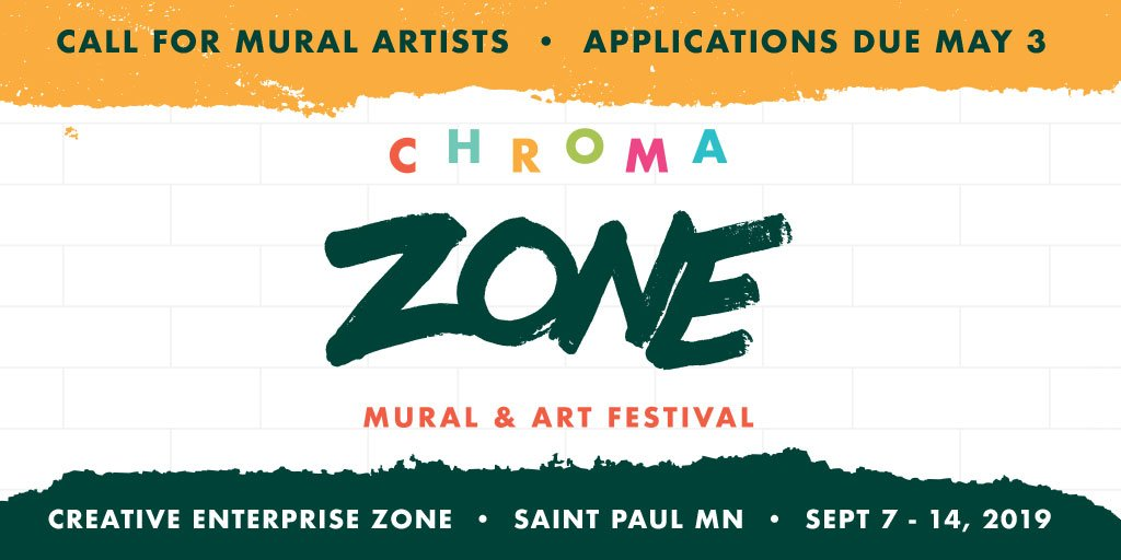 Forecast Public Art Artist Call: CHROMA ZONE MURAL & ART